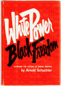 Books:Social Sciences, [African-American]. Arnold Schuchter. White Power / BlackFreedom; Planning the Future of Urban America. Boston: Bea...