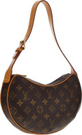 Luxury Accessories:Bags, Louis Vuitton Classic Monogram Canvas Croissant PM Bag . ...