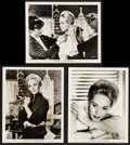 """Movie Posters:Hitchcock, The Birds (Universal, 1963). Portrait and Makeup Photos (3) (8"""" X 10""""). Hitchcock.. ... (Total: 3 Items)"""