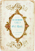 Books:Children's Books, [Slavery]. [Dialect Story]. Uncle Philip. The Girl's Cabinet, ofInstructive and Moral Stories. New York: Philip...