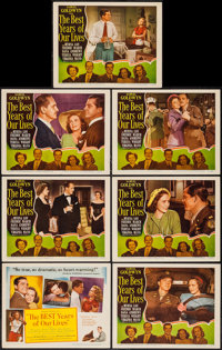 "The Best Years of Our Lives (RKO, 1946). Title Lobby Card and Lobby Cards (6) (11"" X 14""). Drama. ... (Total:..."