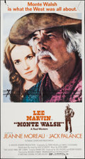 """Movie Posters:Western, Monte Walsh & Other Lot (National General, 1970). Three Sheet(41"""" X 76"""") & One Sheet (27"""" X 41""""). Western.. ... (Total: 2Items)"""