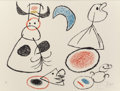 Fine Art - Work on Paper:Print, JOAN MIRÓ (Spanish, 1893-1983). Ubu aux Baléares, 1971.Lithograph in colors. 19-1/8 x 25-1/2 inches (48.6 x 64.8 cm). E...