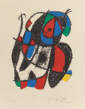 Fine Art - Work on Paper:Print, JOAN MIRÓ (Spanish, 1893-1983). Lithographs II, 1975.Lithograph in colors. 16-1/4 x 13 inches (41.3 x 33.0 cm). Ed.XXV...