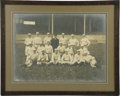 Autographs:Photos, 1902 Chicago Orphans Large Team Photograph. Absolutely exquisite oversized team photograph is believed to be the only survi...