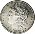1893-CC $1 MS63 ANACS. Undoubtedly one of the most sought-after issues in the Morgan dollar series, the 1893-CC had a mi...