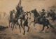 CHARLES SCHREYVOGEL (American, 1861-1912) The American Wild West (four works), circa 1900 Offset lithographs 12-3/4 x...
