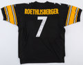 Football Collectibles:Uniforms, Ben Roethlisberger Signed Pittsburgh Steelers Jersey....