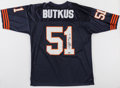 Football Collectibles:Uniforms, Dick Butkus Signed Chicago Bears Jersey....