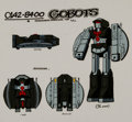 Animation Art:Color Model, Challenge of the GoBots Pathfinder Color Model Animation Art (Hanna-Barbera, 1984)....