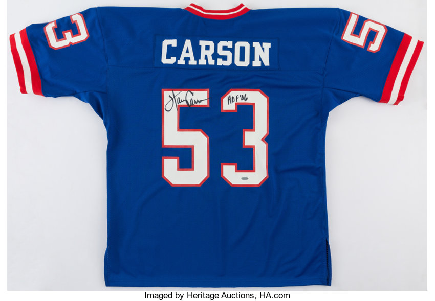 2f65ebeb8 Harry Carson Signed New York Giants.... Football Collectibles