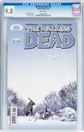 Modern Age (1980-Present):Horror, Walking Dead #8 (Image, 2004) CGC NM/MT 9.8 White pages....