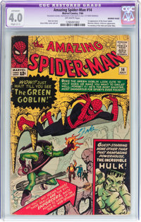 The Amazing Spider-Man #14 Married Pages (Marvel, 1964) CGC Apparent VG 4.0 Slight (C-1) Off-white pages