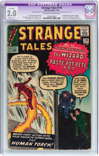 Strange Tales #110 (Marvel, 1963) CGC Apparent GD 2.0 Slight (C-1) Off-white to white pages
