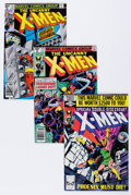 Modern Age (1980-Present):Superhero, X-Men Group (Marvel, 1979-86) Condition: Average NM-.... (Total: 10Comic Books)
