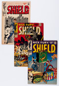 Silver Age (1956-1969):Superhero, Nick Fury, Agent of S.H.I.E.L.D. Group (Marvel, 1968-69) Condition: Average VG.... (Total: 14 Comic Books)