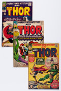 Silver Age (1956-1969):Superhero, Journey Into Mystery Group (Marvel, 1964-66) Condition: Average VG.... (Total: 9 Comic Books)