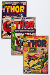 Journey Into Mystery Group (Marvel, 1964-66) Condition: Average VG.... (Total: 9 Comic Books)