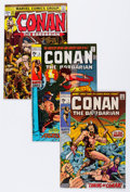Bronze Age (1970-1979):Adventure, Conan the Barbarian Group (Marvel, 1970-80) Condition: Average VG/FN.... (Total: 36 Comic Books)