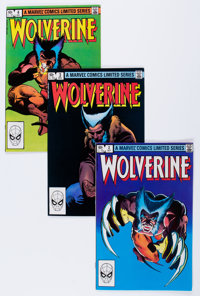 Wolverine Group (Marvel, 1982-90) Condition: Average NM-.... (Total: 35 Comic Books)