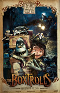 Animation Art:Production Drawing, The Boxtrolls Movie Poster Concept Original Art (LAIKA, 2014)....