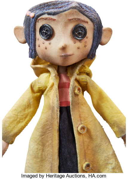 Coraline Button Eyed Doll Original Animation Puppet Laika Lot 94011 Heritage Auctions