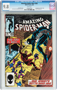 The Amazing Spider-Man #265 (Marvel, 1985) CGC NM/MT 9.8 White pages
