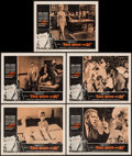 """Movie Posters:Exploitation, Free, White and 21 (American International, 1963). Lobby Cards (5)& Uncut Pressbook (19 Pages) (11"""" X 14""""). Exploitation.. ...(Total: 6 Items)"""