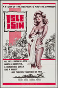 "Movie Posters:Adventure, Isle of Sin (Manson Distributing, 1962). One Sheet (27"" X 41"")& Lobby Card Set of 8. Adventure.. ... (Total: 9 Items)"