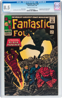Fantastic Four #52 (Marvel, 1966) CGC VF+ 8.5 Off-white to white pages
