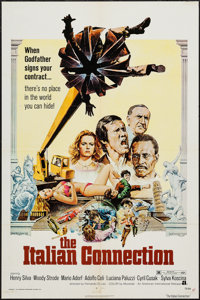 """The Italian Connection (American International, 1973). One Sheet (27"""" X 41"""") & Lobby Card Set of 8 (11&quo..."""