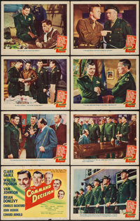 """Command Decision (MGM, 1948). Lobby Card Set of 8 (11"""" X 14""""). War. ... (Total: 8 Items)"""