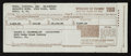 Basketball Collectibles:Others, 1960 Wilt Chamberlain Philadelphia Warriors Tax Form....