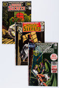 Bronze Age (1970-1979):Horror, House of Secrets Group (DC, 1971-76) Condition: Average VF....(Total: 26 Comic Books)