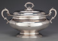 Silver Holloware, British:Holloware, AN ELKINGTON SILVER-PLATED COVERED TUREEN, Birmingham, England,circa 1873-1874. Marks: E & CO. (in shield under acrown...
