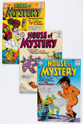 Silver Age (1956-1969):Horror, House of Mystery Group (DC, 1964-65) Condition: Average VF....(Total: 9 Comic Books)