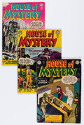 Silver Age (1956-1969):Horror, House of Mystery Group (DC, 1952-63) Condition: Average GD....(Total: 7 Comic Books)