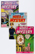 Silver Age (1956-1969):Horror, House of Mystery Group (DC, 1954-65) Condition: Average VG+....(Total: 10 Comic Books)