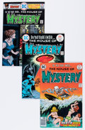 Bronze Age (1970-1979):Horror, House of Mystery Group (DC, 1975-77) Condition: Average VF/NM....(Total: 18 Comic Books)