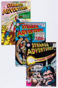 Silver Age (1956-1969):Science Fiction, Strange Adventures Group (DC, 1965-67) Condition: Average VF....(Total: 15 Comic Books)