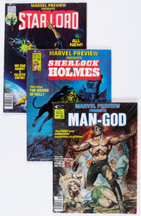 Marvel Preview #5, 9, and 11 Group (Marvel, 1976-77) Condition: Average VF.... (Total: 3 Comic Books)