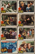 "Movie Posters:Western, Stardust on the Sage (Republic, 1942). Lobby Card Set of 8 (11"" X 14""). Western.. ... (Total: 8 Items)"