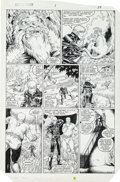 Original Comic Art:Panel Pages, Arthur Adams and Whilce Portacio Longshot #1 Page 9 OriginalArt (Marvel, 1985)....