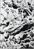 Original Comic Art:Splash Pages, John Buscema Thor Annual #5 Original Art Splash Page(Marvel, 1976)....