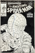 Original Comic Art:Covers, Todd McFarlane Amazing Spider-Man #307 Cover Original Art(Marvel, 1988)....