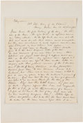 Autographs:Military Figures, General George B. McClellan Autograph Letter Signed...