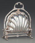 Silver Holloware, American:Other , AN F. B. ROGERS CO. SILVER-PLATED BISCUIT WARMER,Taunton,Massachusetts, circa 1890. Marks: F. B. ROGERS SILVER CO.SILVER...