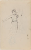 Fine Art - Work on Paper:Drawing, LAURA L. STODDARD (American, 20th Century). Group of Ten FiguralSketches. Pencil on paper. 14 x 10 inches (35.6 x 25.4 ...(Total: 10 Items)