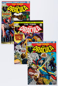 Bronze Age (1970-1979):Horror, Tomb of Dracula Group (Marvel, 1972-79) Condition: Average VF+....(Total: 22 Comic Books)