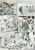"Original Comic Art:Panel Pages, Mike Ploog Vampirella #14 ""The Wedding Gift"" Page 7 OriginalArt (Warren, 1971)...."